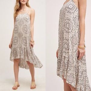 Anthropologie Eloise High Low Dress